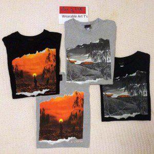 Art by Duff Wearable Art T-Shirts